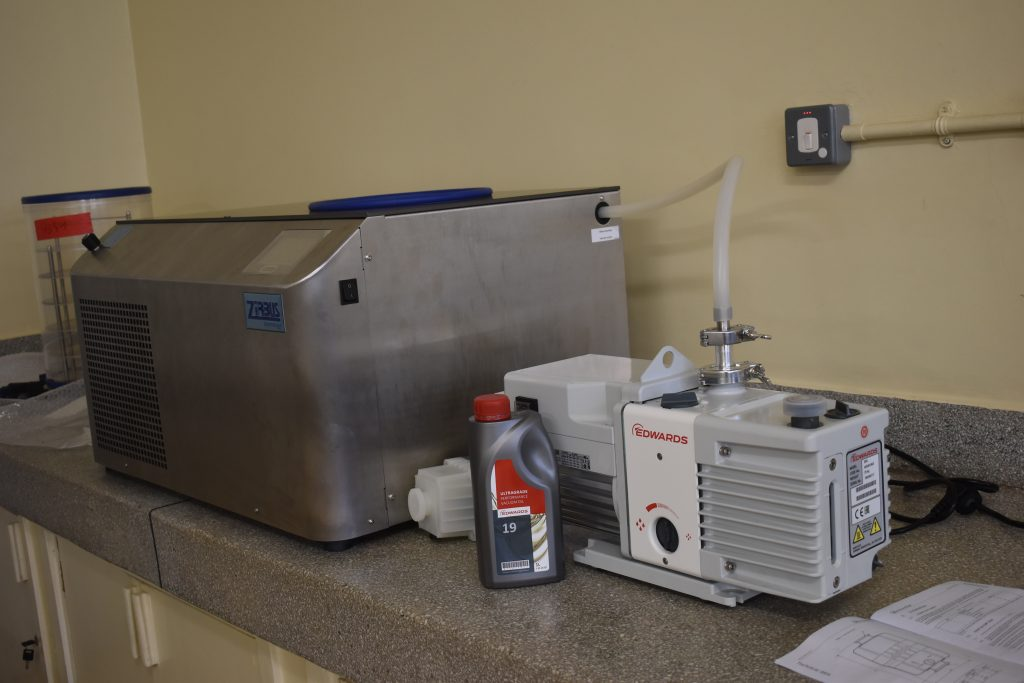 - Installed and ready to use Biotech equipment