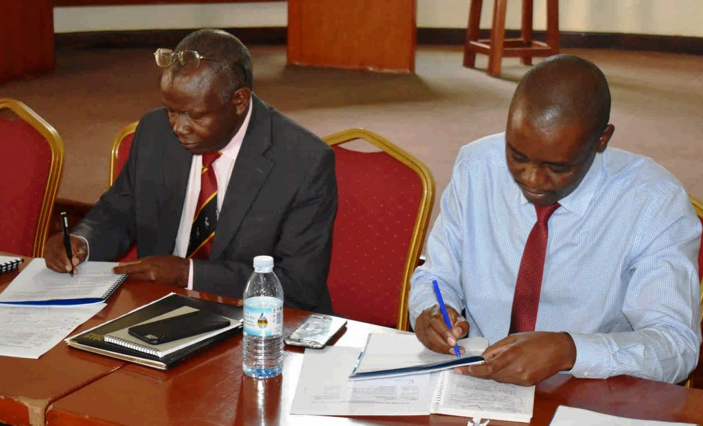- The Principal and Dean sign the handover report