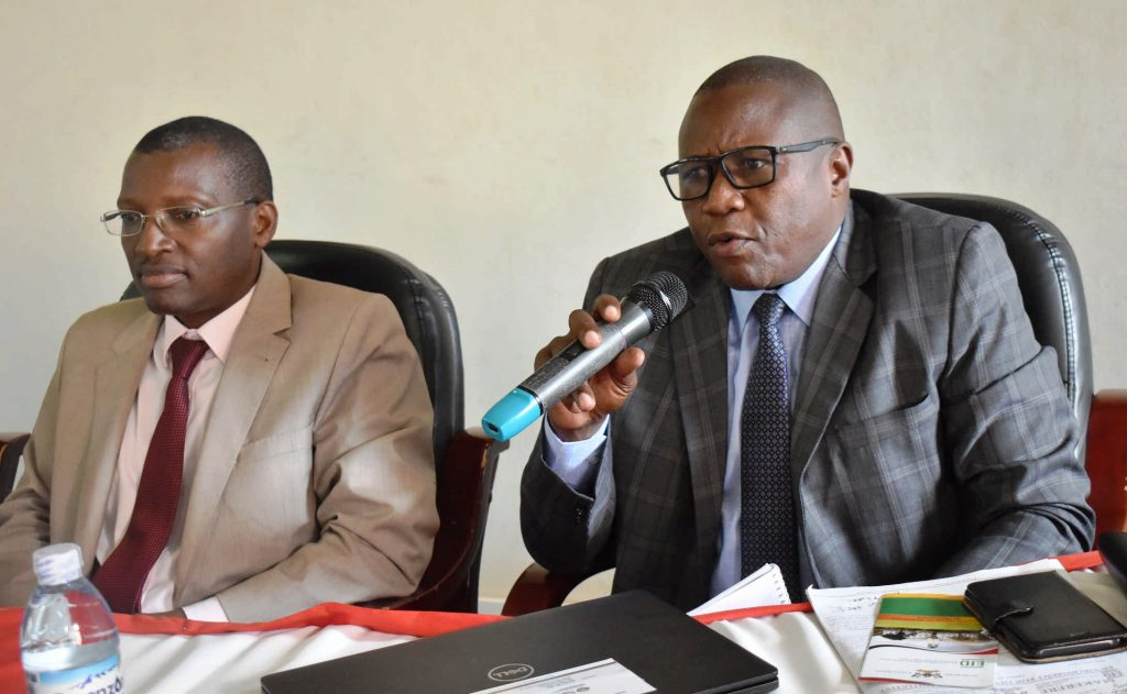 - City Prominent lawyer and LCV Chairman Wakiso district during the policy dialogue