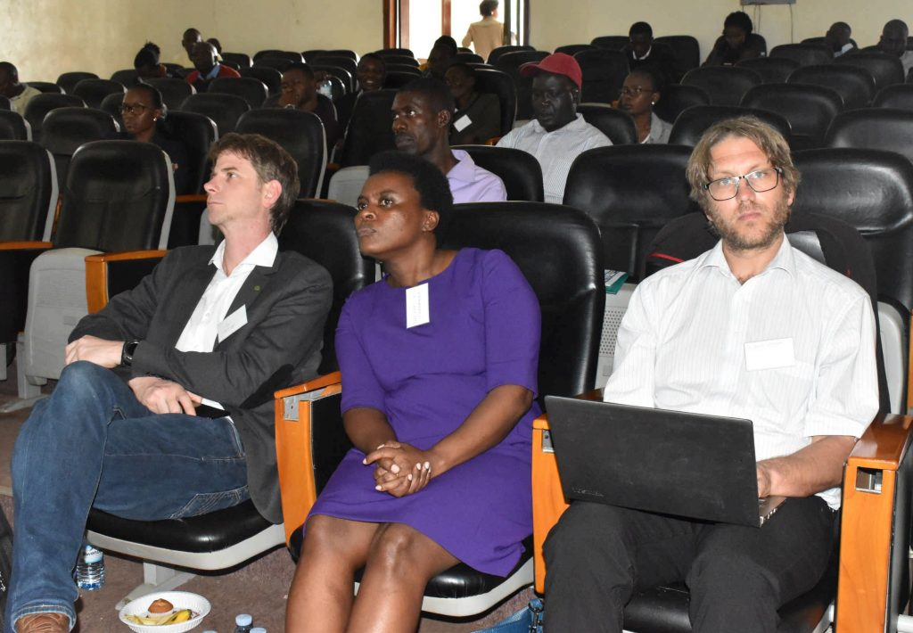 - A section of participants during the policy dialogue