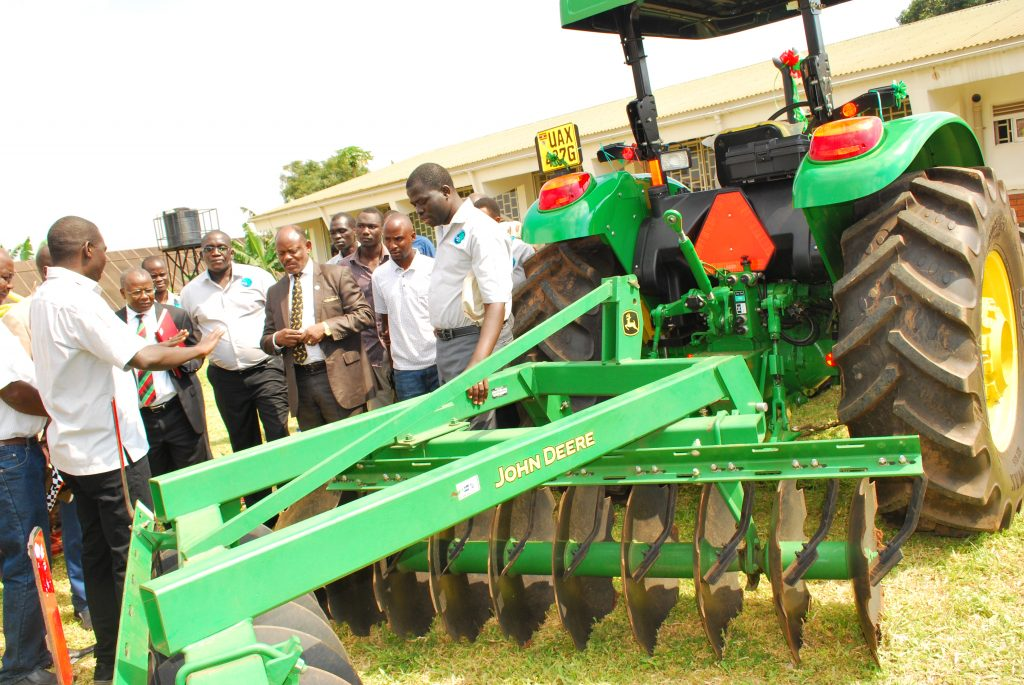 - MaRCCI first class agricultural equipment to help students in tilling of land for crop improvement