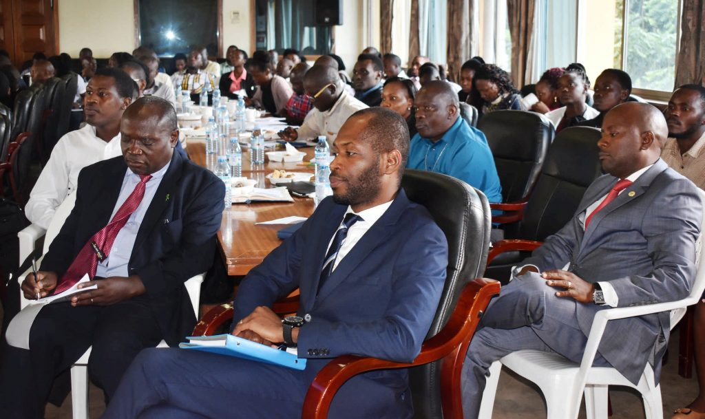 - Some of the participants during the policy dialogue on Environment for Development Initiative (EfD–Mak) Centre