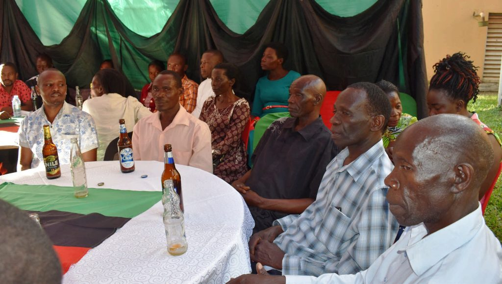 - Some of the MUARIK staff during the party